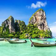 Strandhoppen Thailand